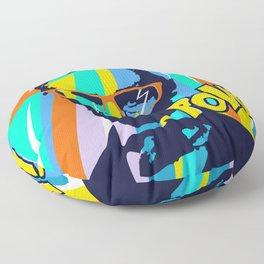 HIPSTER LINCOLN POP ART Floor Pillow