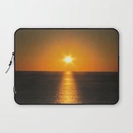 Caribbean Ocean Sunset Laptop Sleeve