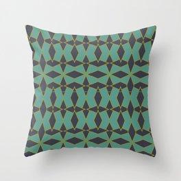 Mid Century Modern Diamonds #1 Throw Pillow