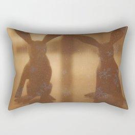 Rabbit Rabbit Rectangular Pillow