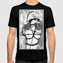 asc 648 - Les liens occultes (Tied up by a long distance relationship) T-shirt