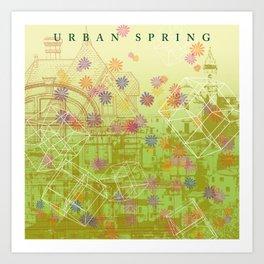 Urban Spring Art Print