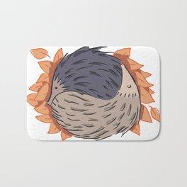 Hedgehog Yin Yang Bath Mat