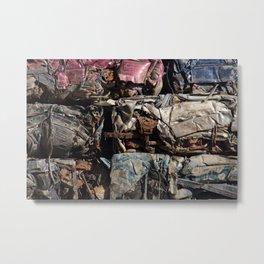Junk or Art 2 Metal Print