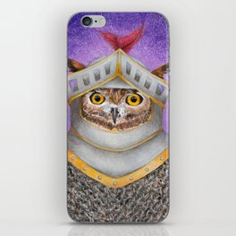 Knight Owl iPhone Skin
