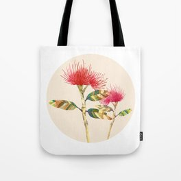 Pohutukawa flower Tote Bag