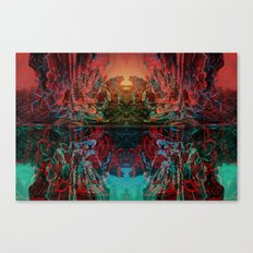 The Lake of Pure Mind Canvas Print