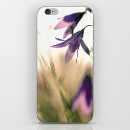Bluebells in the meadow  iPhone Skin
