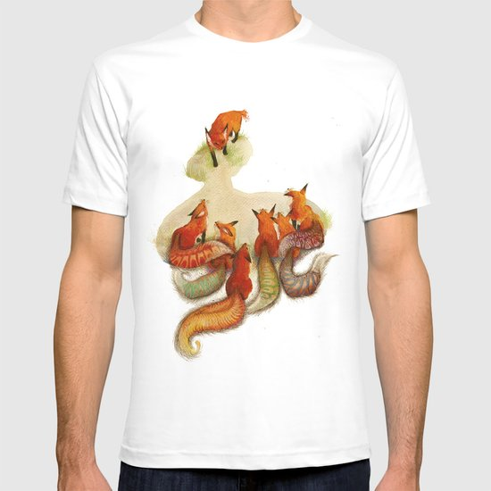 aesop's fable - the fox and his tail T-shirt