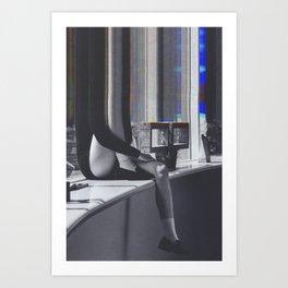 Bazaar #40 Art Print