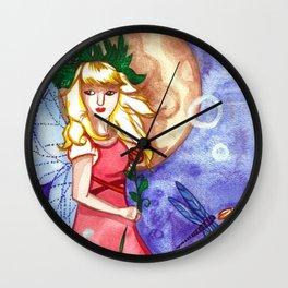 Under the Moon Fay Wall Clock