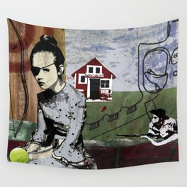 My summer in Poland Wall Tapestry