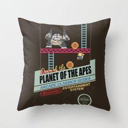 Ape not kill ape Throw Pillow