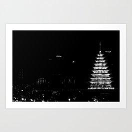 Korean Nights Art Print