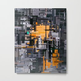 Arbitrary 3 Metal Print