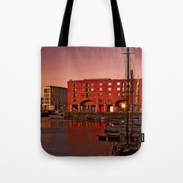 Albert Docks, Liverpool Tote Bag