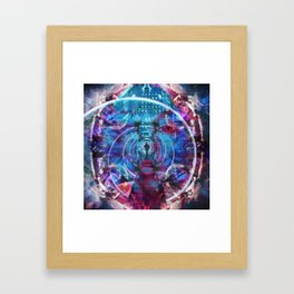 Parting the Sea of Illusion Framed Art Print