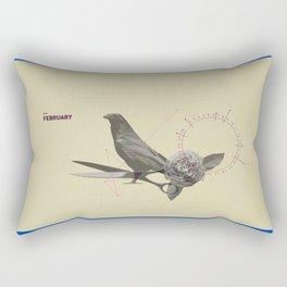 februar Rectangular Pillow