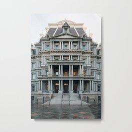 Eisenhower Executive Office Building Metal Print
