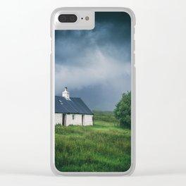 Cottage in Glencoe II Clear iPhone Case