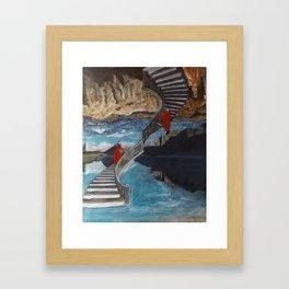 """""""Ascent/ Descent"""" Framed Art Print"""