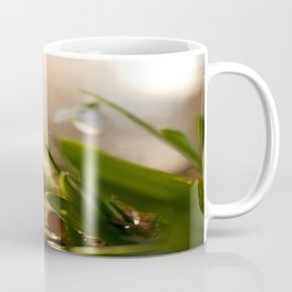 You And I Two Snowdrop Flowers #decor #society6 Coffee Mug
