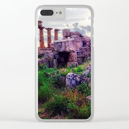 Selinunte Clear iPhone Case