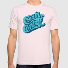 Creative Control Mens Fitted Tee Light Pink SMALL