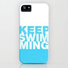 Keep Swimming iPhone (5, 5s) Slim Case