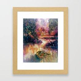Lakeside dream Framed Art Print