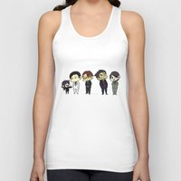 durarara Tank Tops featuring Awakusu lineup by charmaise