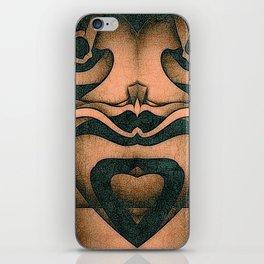 Heart To Heart iPhone Skin