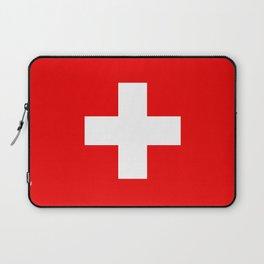 Flag of Switzerland - Swiss Flag Laptop Sleeve