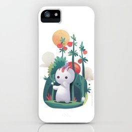 Raddish Spirit iPhone Case