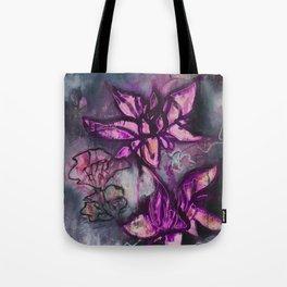 Graffiti Floral Lotus (by912-StreetDreams) Tote Bag