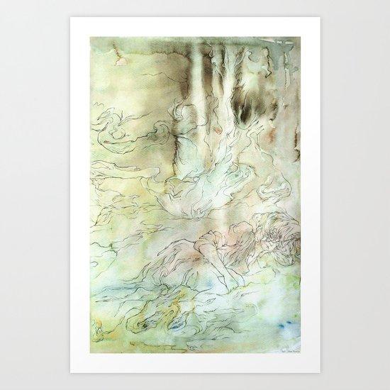 Seek (part three of three) Art Print