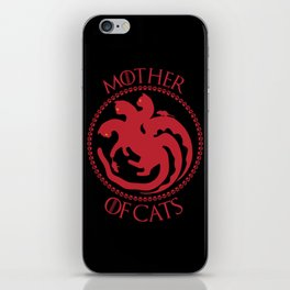 Mother of Cats For Cat Lovers iPhone Skin