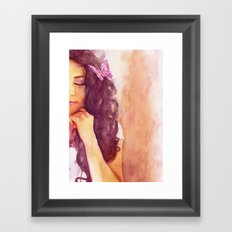 A part of me Framed Art Print