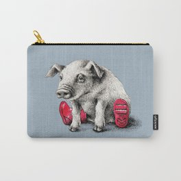 Piggy in Welly Carry-All Pouch