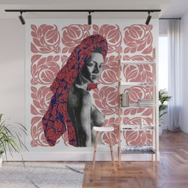 Frequent flora Illustration 2 Wall Mural