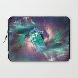 TARDIS EXPLODES Laptop Sleeve
