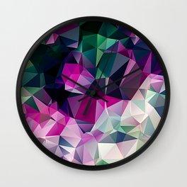 Polygonal Triangles Vol 1 Wall Clock