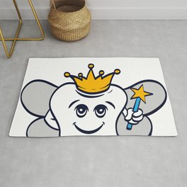 Tooth Fairy A Cute White Teeth Great Gift For Dentists Doctors, Dental Technician T-shirt Design Rug