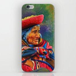 Las marcas del Cuzco iPhone Skin