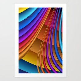 colors for your home -331- Art Print