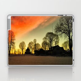 Dramatic Sunset Laptop & iPad Skin