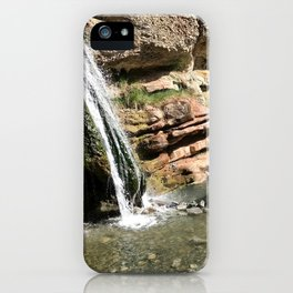 Fifth Water Hot Springs iPhone Case