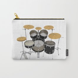 Black Drum Kit Carry-All Pouch