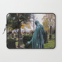 """Dietro la chiesa (Oslo) """"A SAFE PLACE"""" series Laptop Sleeve"""