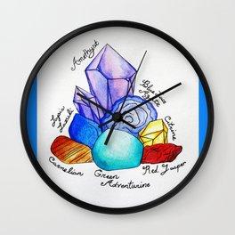 Chakra Stones Wall Clock